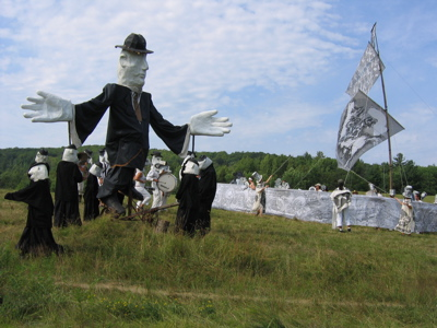 Bread & Puppet Victory Circus interlude