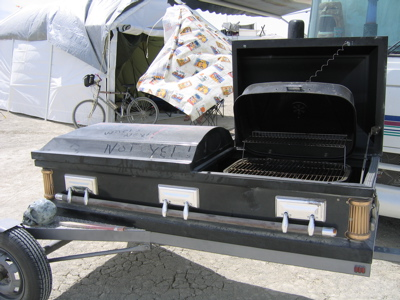 BBQ Casket