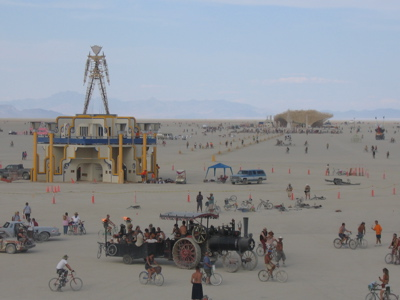Man on the Playa