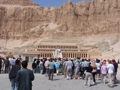 Deir el-Bahri, Luxor, EG