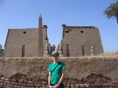 Luxor Temple First Pylon