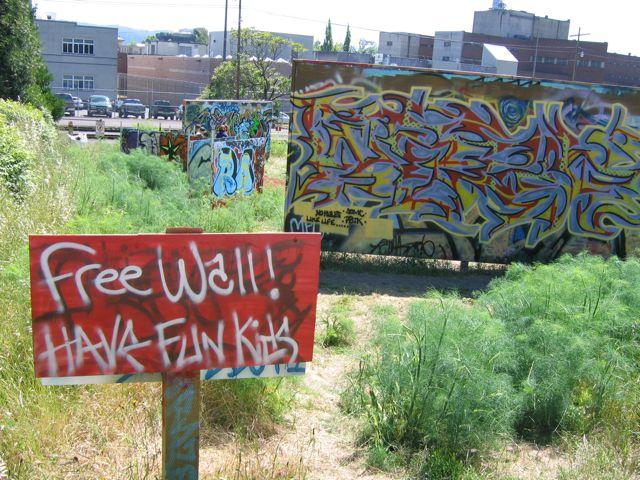 Eugene Free Wall
