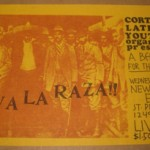 A hand bill from the Cortland Latin Youth Organization in the Mission Dist. of SF. Probably from the 1970s.