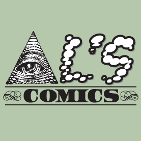 Al's Comics Money Logo