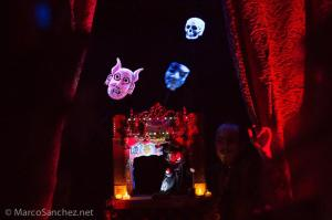 Edwardian Ball puppet magic