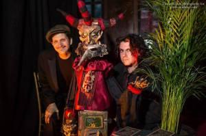 The Automaton Tarot Reader, Edwardian ball 2014